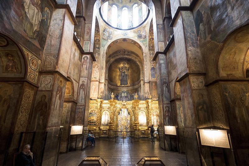 Kiev Gezilecek Yerler 1: Aziz Sofya Katedrali - St. Sophia Cathedral » www.hellofromworld.com