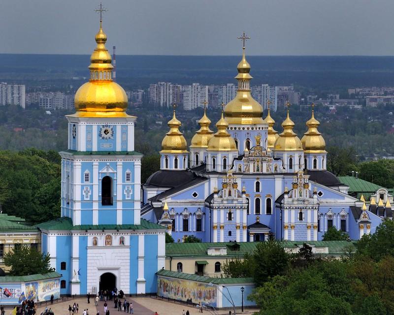 Kiev Gezilecek Yerler 2: St. Michael Altın Kubbeli Katedral » www.hellofromworld.com