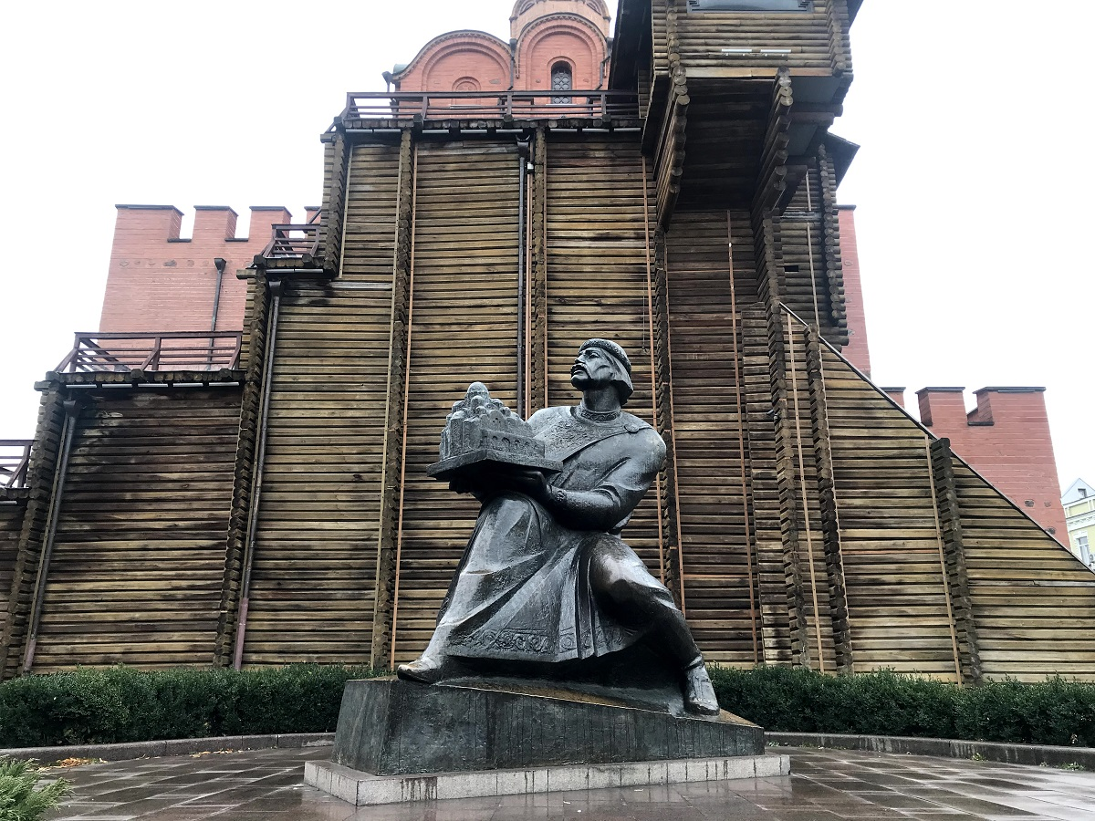 Kiev Adım Adım Gezi Rehberi Kısım 6: Golden Gate - Altın Kapı ve Kiev'in En Güzel Binaları