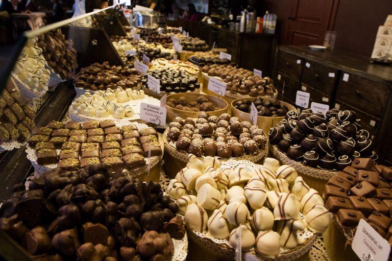 Kiev Gezilecek Yerler: Lviv Handmade Chocolate Andrevski Yokuşu