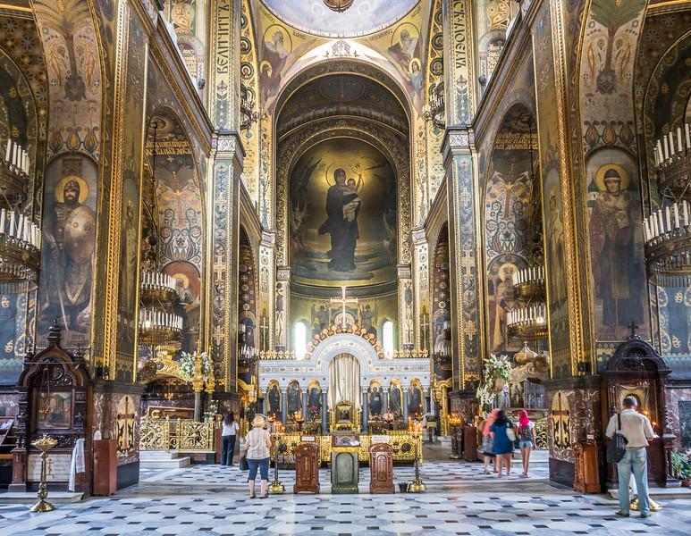 kiev St.Volodymyr Cathedral -Aziz Vlolodymyr Katedrali - kiev kaç günde gezilir