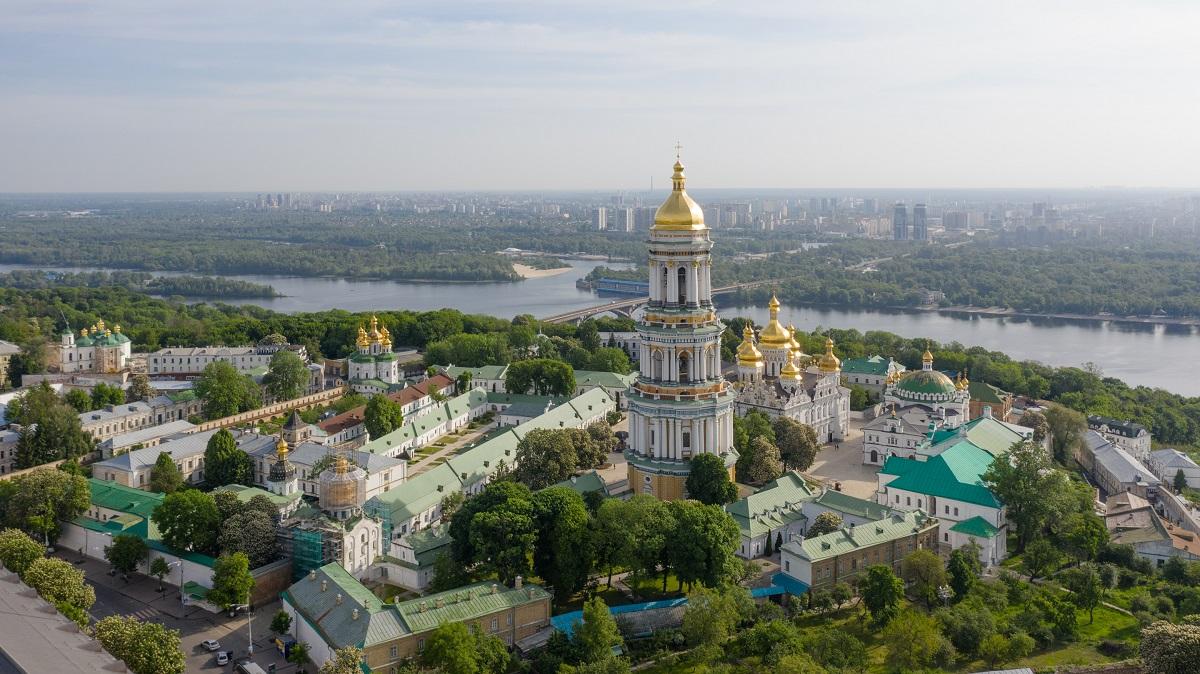 Kiev Gezilecek Yerler - PECHERSK LAVRA - MAĞARALAR MANASTIRI - Kiev Gezi - Manastır - Mağara - seyahat - Kiev de Gezilecek Görülecek Yerler - Gezi Listesi - Hacı - Kiev de Hacı olmak - İbadet - Yıkım - 2.Dünya Savaşı - Uspensʹkyy Sobor - Varsayım Katedrali - Great Lavra Bell Tower -   Mağaralar Manastırı Çan Kulesi