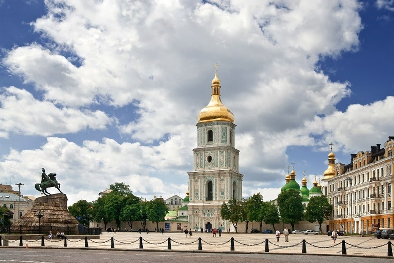 Aziz Sofya Katedrali Adım Adım Gezi Rehberi - St.Sophia Cathedral Gezi Rehberi - Kiev Gezilecek Yerler Rehberi - Kiev St.Sophia Cathedral Tarihi ve Ziyaret Bilgileri